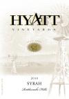 2010 Syrah Front