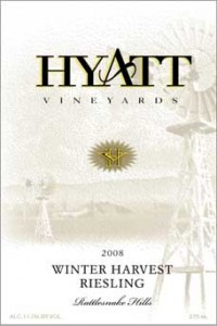 2008 Winter Harvest Riesling