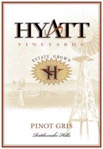 2012 Pinot Gris