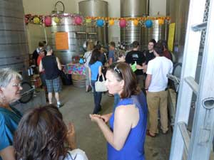 winery tour event