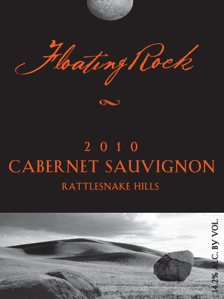 2010 Floating Rock Cabernet Front