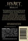2010 Merlot Back