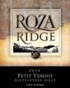 2010 Roza Ridge Petit Verdot Front