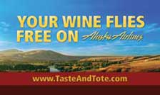 Your Wine Flies Free on Alaska Airlines